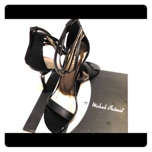 Michale Antonio Jahan Black Heels **Brand New**